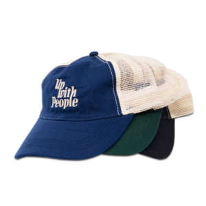 up with people retro logo baseball cap hat