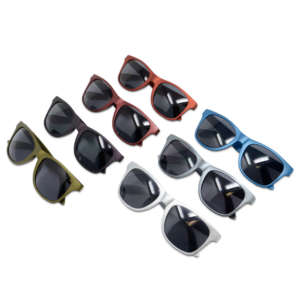 up with people metallic finish sunglasses