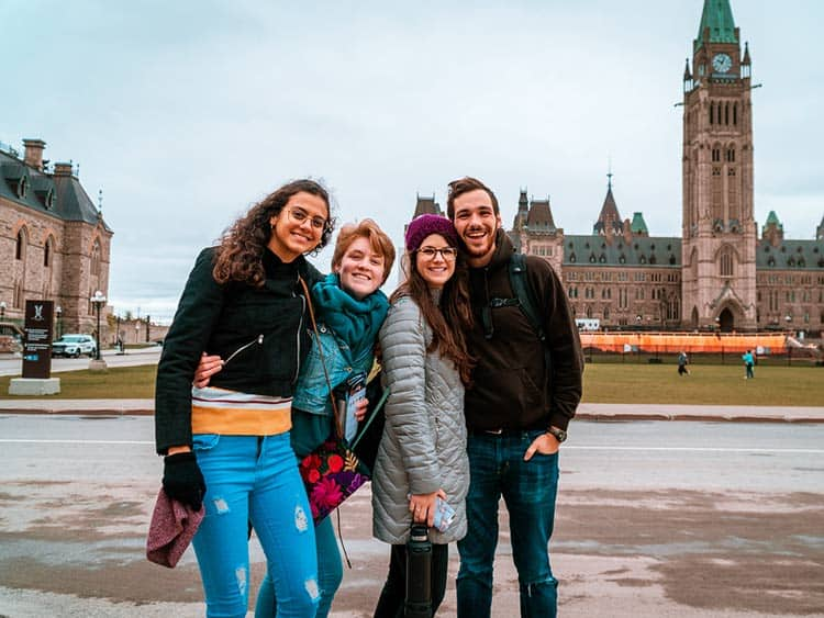 up with people travelers in canada