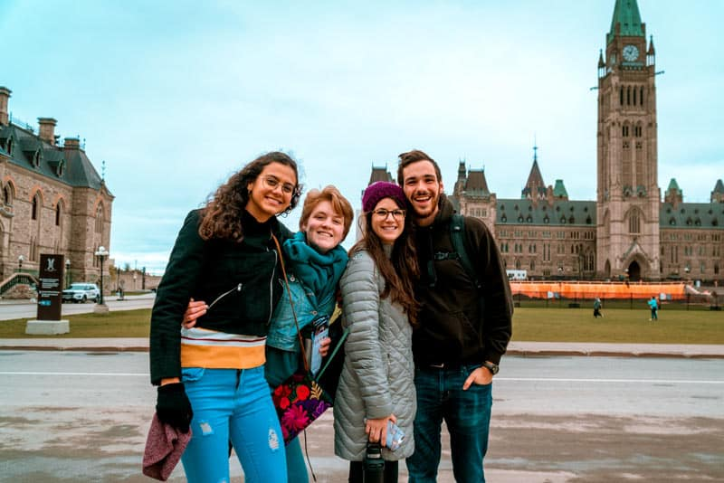 up with people cast traveling in canada